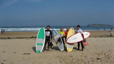 Proxima prueba de kneeboard en Cantabria